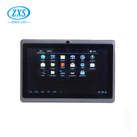 ZhiXingSheng Hot sale 7'' RAM 512mb ROM 4gb allwinner a13 mid tablet games download Q88