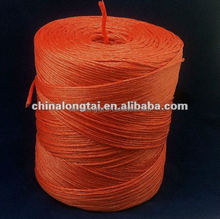 fibrillated pp twine rope for agricultural packing