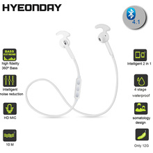 Update Version V4.1 + EDR Earphone Wireless Headset 2016 Top Selling Bluetooth Headphone With Mic Sport
