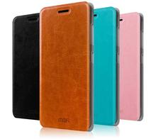 Mofi Flip Leather Back Cover Case For OPPO N1 mini N3 A11 A33T A53T A51 R3 R5 R7 R7s R9 R9s Plus R831 R827 R827T R2017
