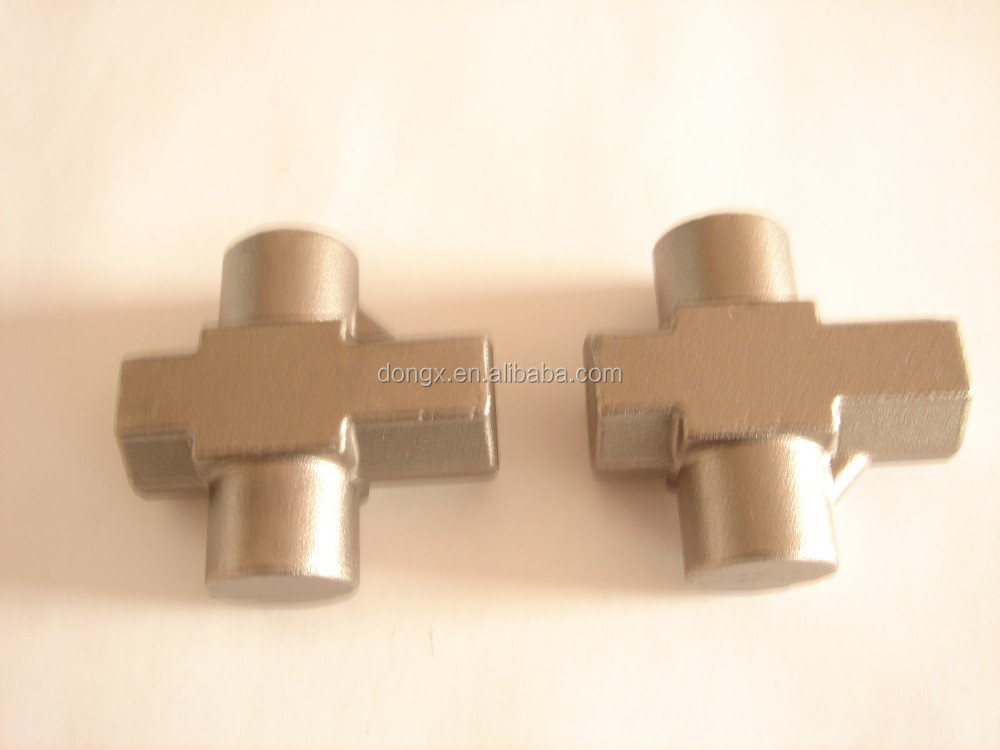 Brass forged manifold for floor heating