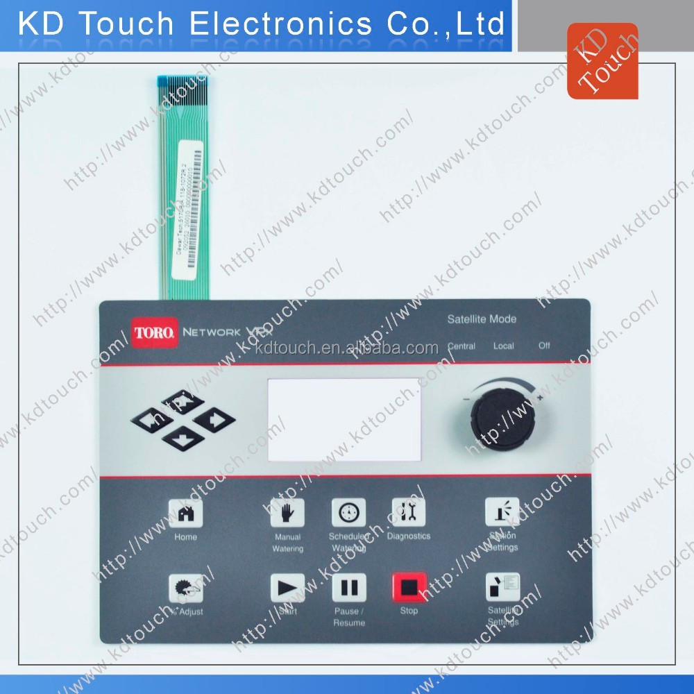 Multi-color good quality Circuit Rotary DuraSwitch with dome For technical Equipments
