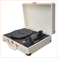 Belt Drive 3 speeds USB Bluetooth Turntable Record Player Wholesales