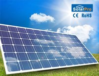 China portable 260w poly high efficiency industrial solar panel