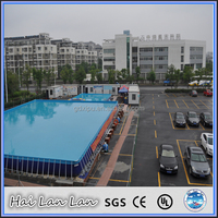 2015 Steel Frame PVC Plastic Swimming Pools Sale For Summer Use