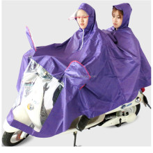 poncho waterproof PVC family bicycle raincoat