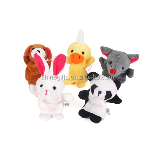 animal cartoon figure puppets for kids