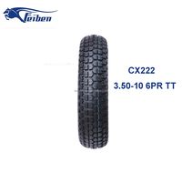 FEIBEN BRAND CHINA MOTORCYCLE TYRE CX222 BUY TIRES DIRECT FROM FACTORY SCOOTER TYRE 3.50-10