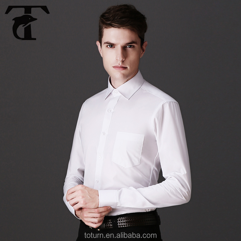 Wholesale clothing garment latest shirt designs mens dress for Bulk mens dress shirts