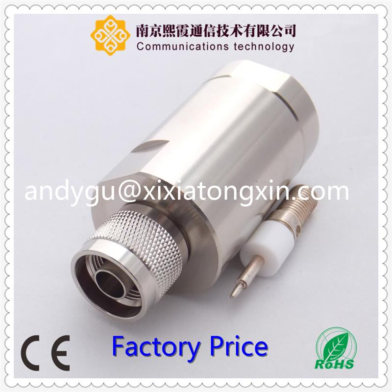 Waterproof bulkhead electrical connector jack cable
