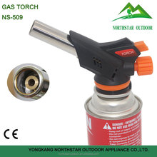 NS-509 flame butane portable mini soldering gas heating torch for welding