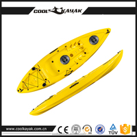 hard plastic boat fishing cool kayak