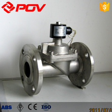 low price flange connection steam solenoid valve