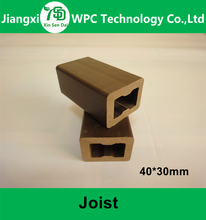 Hollow WPC Wood Plastic Composite Joist For Outdoor Decking