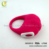 Sex toy enjoyment device penis cock ring female silicone rechargeable vibrating cock penis ring for man