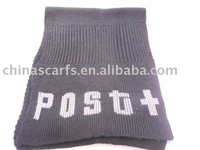 2012 best selling items 100% Acrylic knitting scarf
