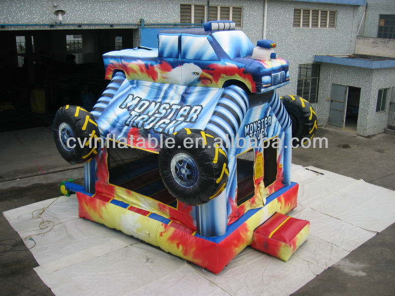 monster truck inflatable bouncer,inflatable bouncer china