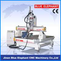 cnc router with rotational axis, 3d cnc router wood engraving machine, 3 axis cnc woodworking router