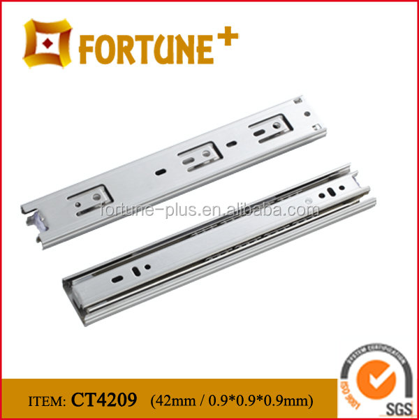 CT4209 42MM Width Push To Open Under Mount Drawer Slide