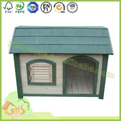 Special new design decorated wood dog house