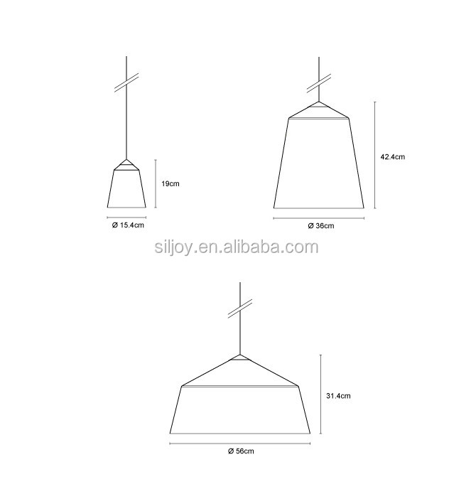 Circus Pendant Suspension Light By Corinna Warm from Innermost Lighting Fixture Small/ Medium/ Large Hanging Lamp for Restaurant