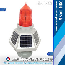LED solar powered marine navigation light/boat light/ buoy light/obstruction light/warning light
