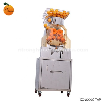 Easy Operation Commercial Automatic Orange Lemon Juice Making Machine