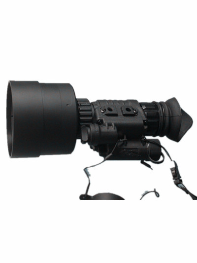PVS-14 night vision monocular with helmet in 5x lens