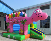 Inflatable Dinosaur bouncy castle /inflatable Dinosaur bouncer/inflatable Dinosaur jumper=