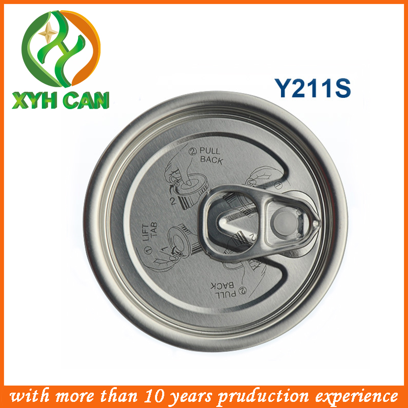 Empty 330ml 2-piece Aluminum Can for Beverage/Beer with Easy Open End