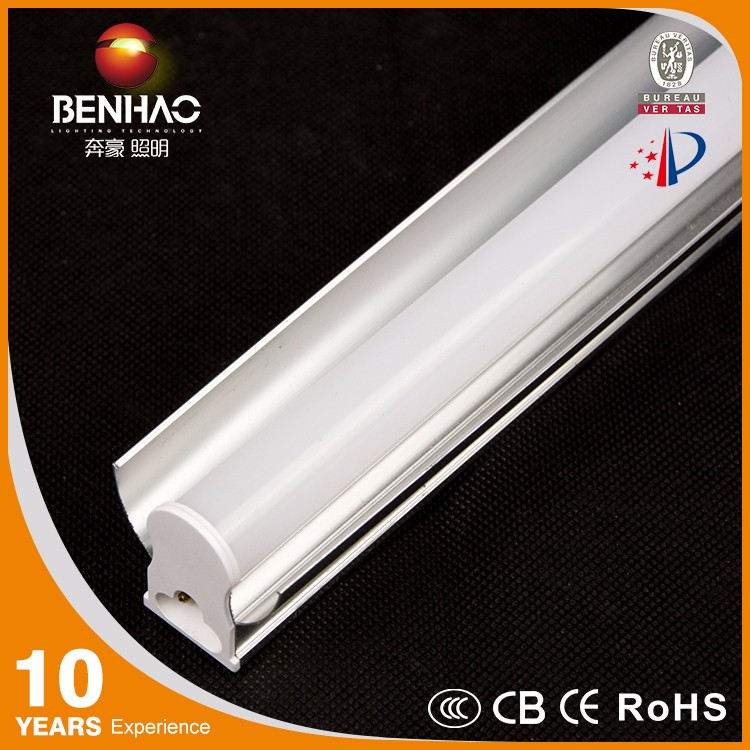 90lm/w T5 Single Holder led tube lights With Cover