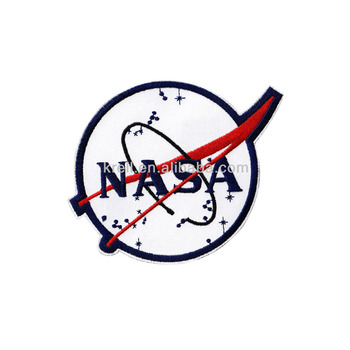 Wholesale Custom Iron On Patch Nasa Embroidered Patch