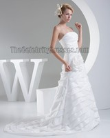 Celebrity Inspired Chapel Train Hemline And OEM Service Supply Type Plus Size Wedding Dress Patterns