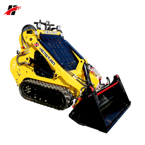 25hp diesel engine small tracked Kanga Ditch Witch mini skid steer loader