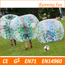 Best selling CE bubble scooer battle ball , bubble ball for football , body zorb ball