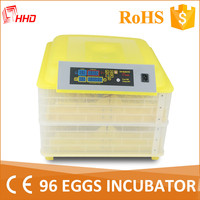 HHD Automatic egg turning 96 eggs hatchery machine india price YZ-96