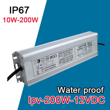 LPV-200-12 switching power supply 200W ac to dc 12v constant voltage waterproof led driver top quality