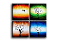 Home Decor Abstract Canvas Paintings/ Beautiful Abstract Paintings/Abstract Painted Canvas