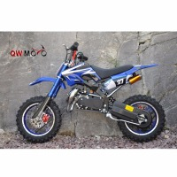 50cc Mini moto 2 Strokes motor mini moto 49cc mini bikes kids gas dirt bikes QWMPB-02