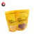 top zip plastic bag/round bottom plastic bag/stand up pouch bag for snack food with window