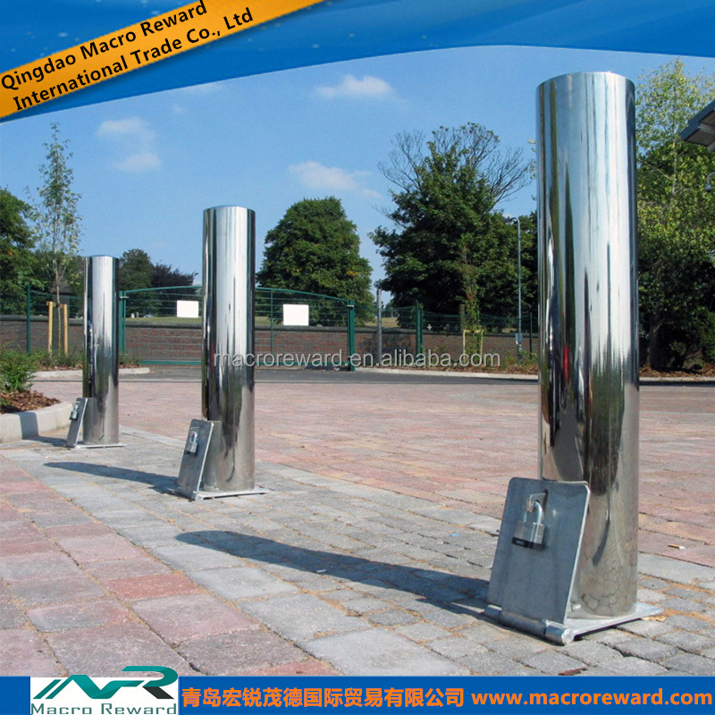 ASTM SS 304 316 Stainless Steel Bollard for Safety Barrier