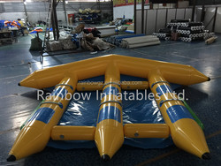 Inflatable Water Game Inflatable Floating Island Inflatable Floating Boat