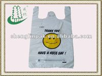 """SMILE"" plastic shopping bag"