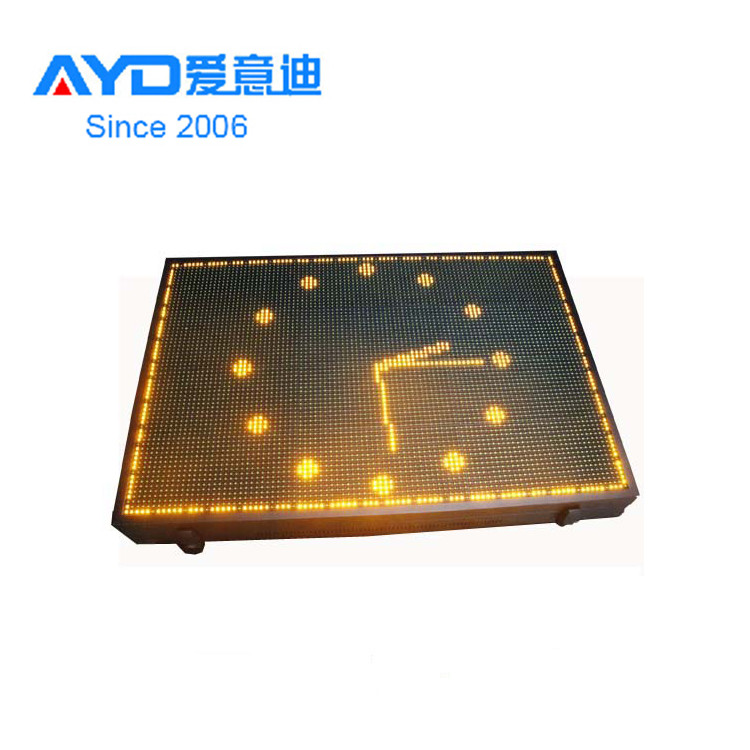 Double Sides <strong>Amber</strong> LED Module Program LED Display Screen Outdoor LED Sign Board