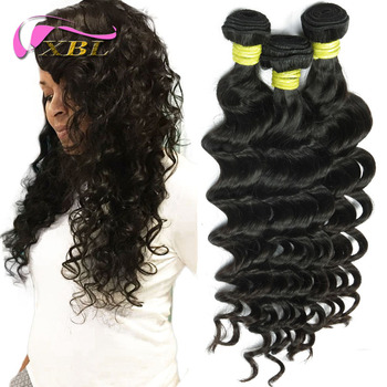 XBL New Arrival Virgin Loose Body Hair Style Brazilian Peruvian And Indian Remy Hair