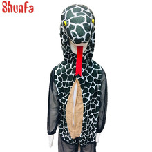 Factory price halloween cosplay mascottes costumes baby for snake