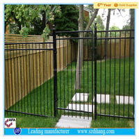 outdoor dog fence, temporary fence, used chain link fence