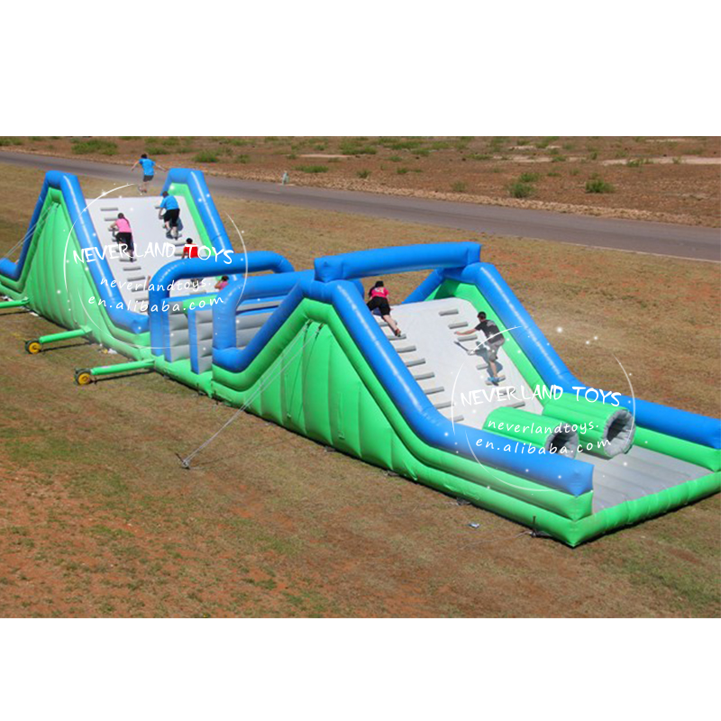 Neverland Toys crazy insane inflatable 5k inflatable obstacle course 5k inflatable obstacles