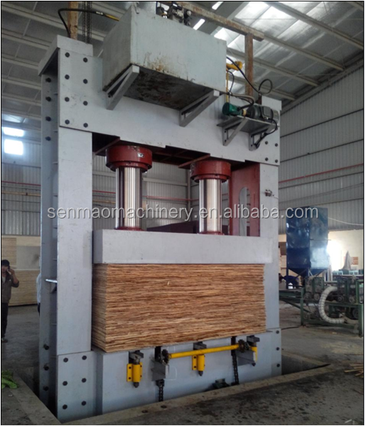 Plywood prepress machine/cold press machine/plywood making machine