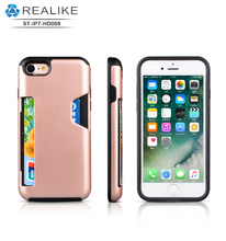 2017 wholesale heavy duty shockproof case tpu + pc two in one case heavy duty for iphone 7